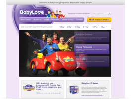 Wordpress Website - BabyLove Nappies