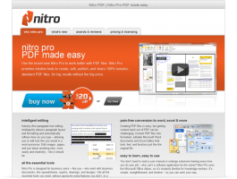 Nitro Microsite - PDF made easy