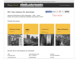 Free Classic eBooks by Planet eBook